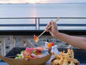 獏海 BAKKAI シラチャ 海の上のレストラン(和食・居酒屋)